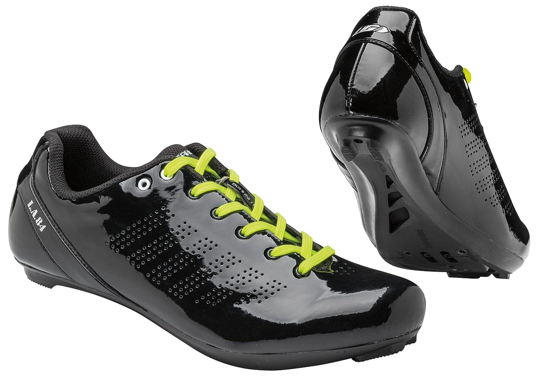 Louis GarneauメンズL。A。84レースアップサイクリング靴 B012RSM9EC 42|ブラック ブラック 42