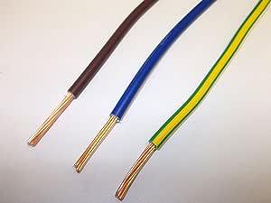 5 metros 10mm Cable de tierra SQ amarillo verde 6491X 10mm singles la vinculación de puesta a tierra
