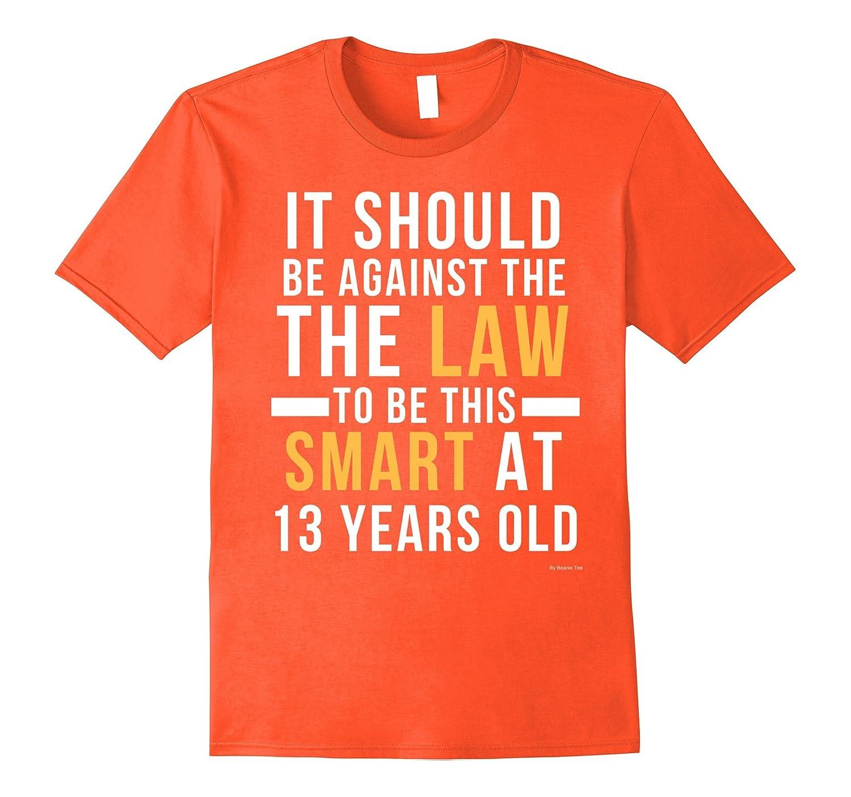 13th birthday t shirt for 13 year old birthday boys girls