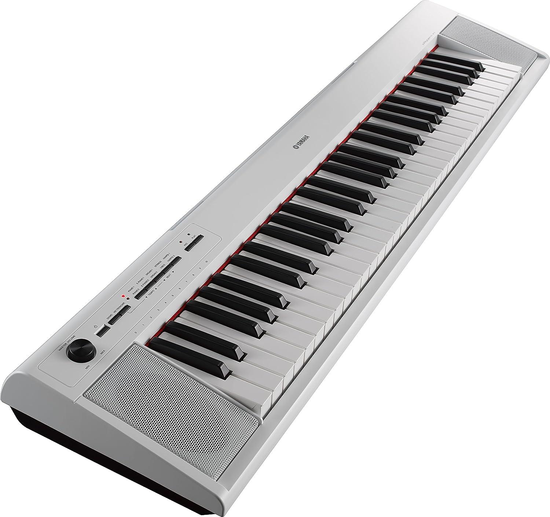 Yamaha NP-12WH - Teclado electrónico, color blanco: Amazon.es: Instrumentos musicales