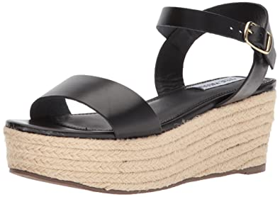 6159a3e0cef Steve Madden Women s Busy Wedge Sandal  Amazon.co.uk  Shoes   Bags