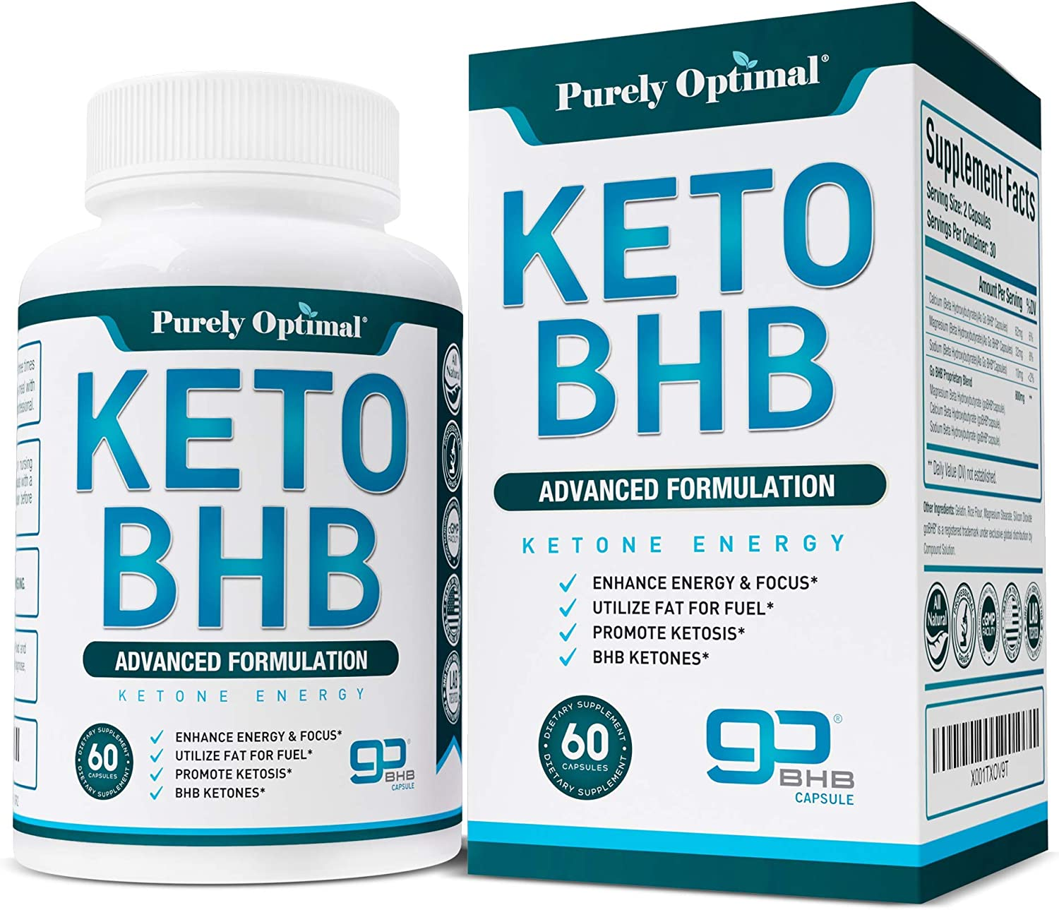 Amazon.com: Premium Keto Diet Pills - Utilize Fat for Energy with Ketosis -  Boost Energy & Focus - BHB Ketogenic Supplements for Women and Men - 30 Day  Supply: Health & Personal Care
