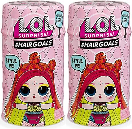 Amazon.es: GIOCHI Pack 2 Bolas Surprise HairGoals Makeover Wave 2 ...