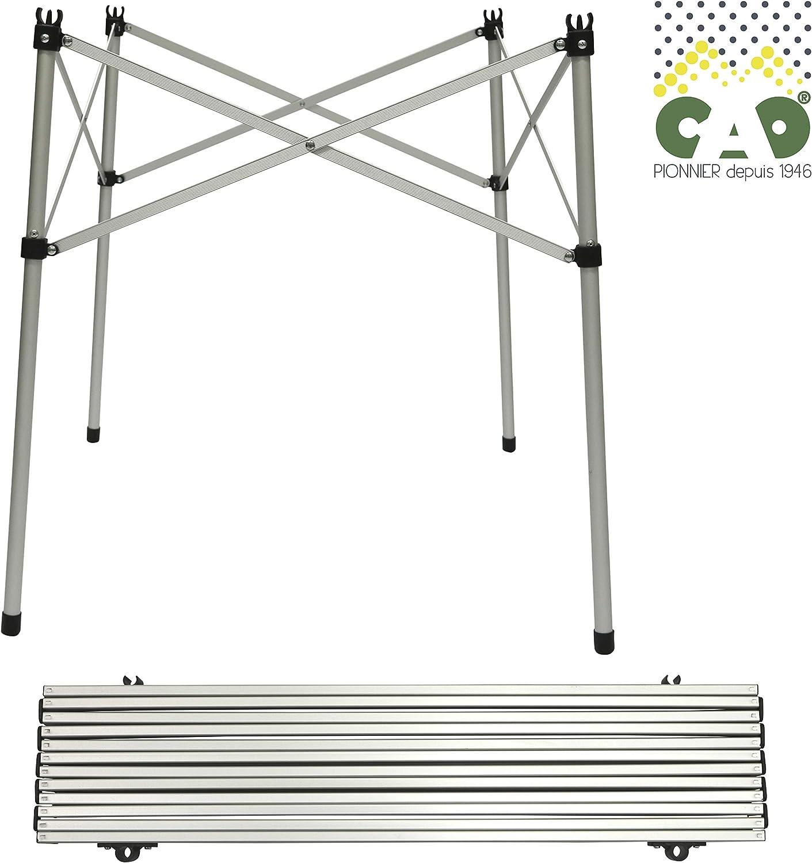 Cao Slatted Aluminium Folding Table