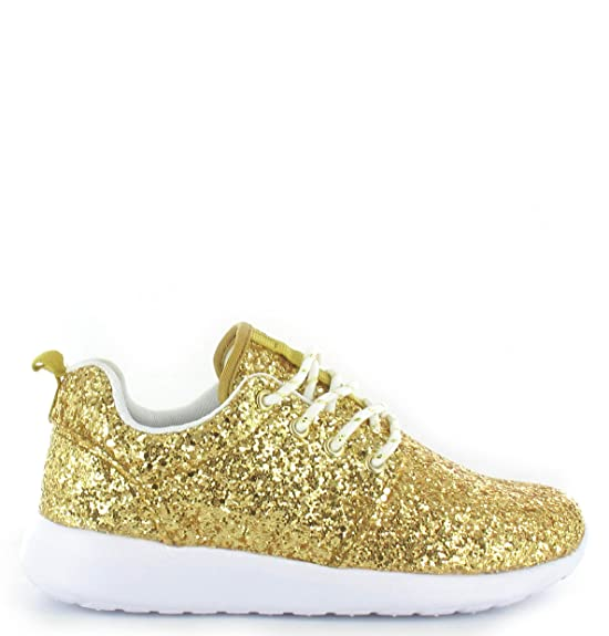 SHUMAD Sneaker Donna Nero nero Taglia 36-42 EU, Nero (Navy), 38
