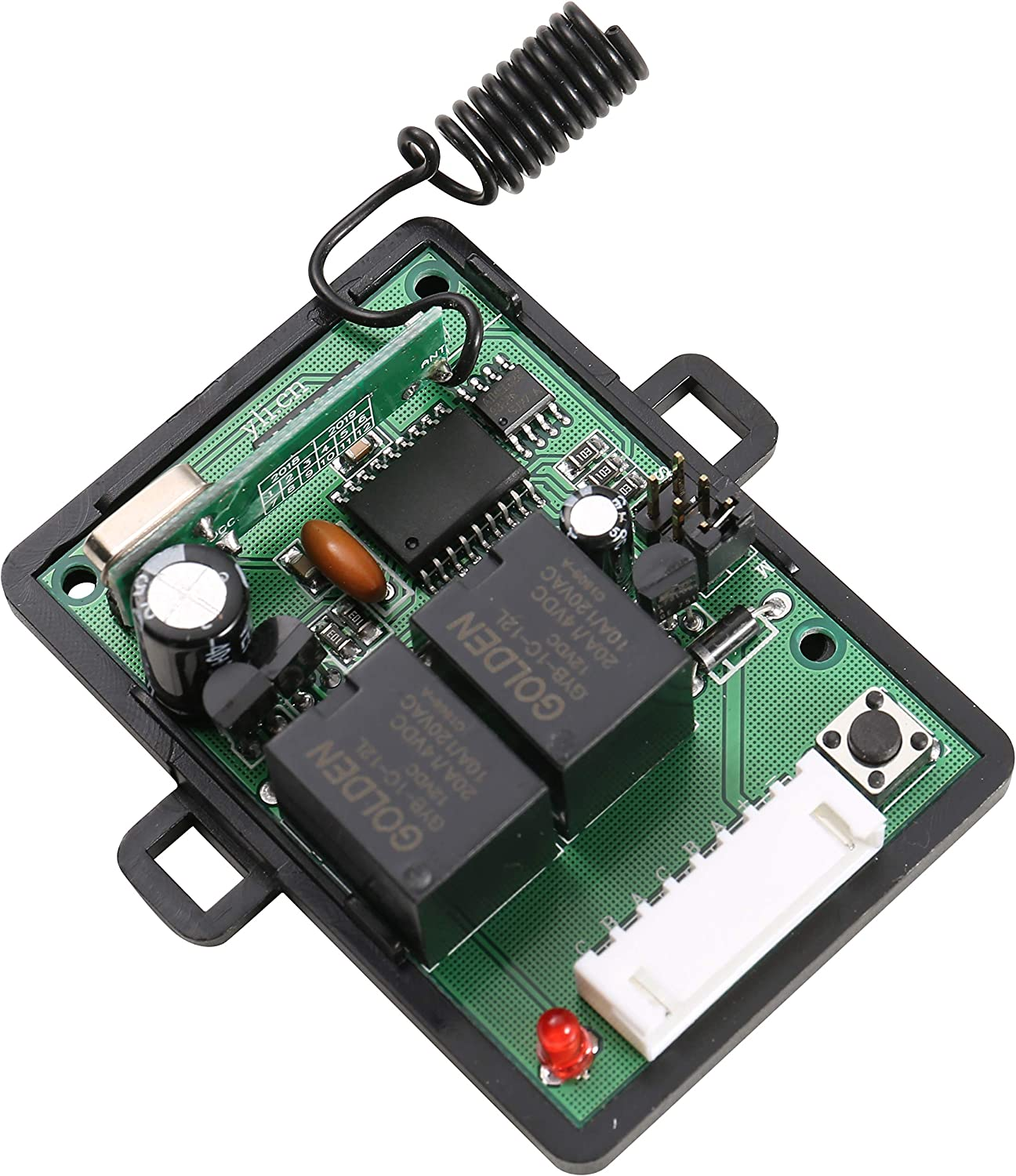 12vdc 433mhz Wireless Remote Control Switch 2-channel Electronics