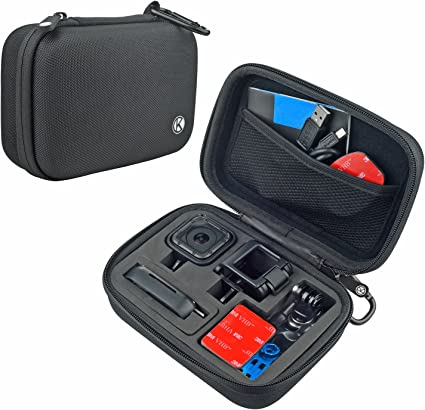 Ideal for Travel or Home Storage 3 3+ CamKix Microfiber Cleaning Cloth Included CamKix Carrying Case compatible with Gopro Hero 4 Complete Protection for Your GoPro Camera 2 Black Hero+ LCD Silver