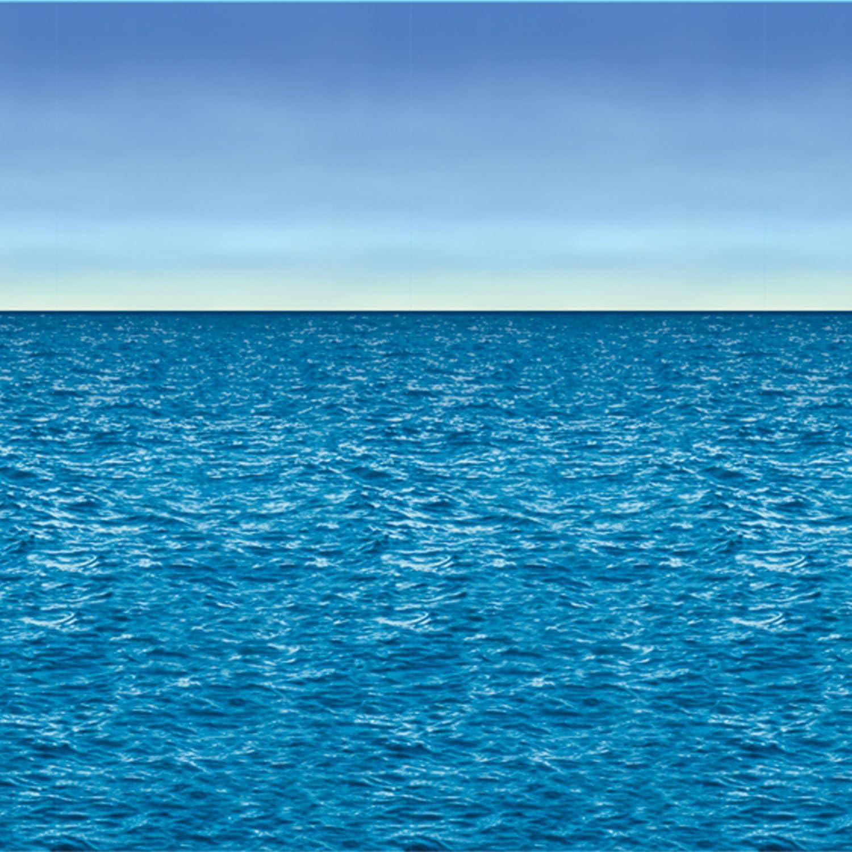 Ocean & Sky Backdrop Party Accessory (1 count) (1/Pkg)
