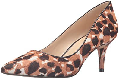 Nine West Women's Margot Pony Dress Pump, Natural Multi Kenya Cheetah, ...