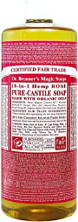 product image for Org Rose Oil Castile Soap-944 ml Brand: Dr. Bronners Magic Soap