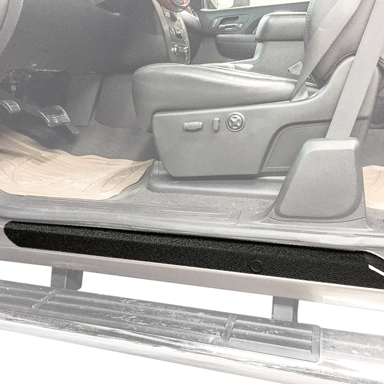 Red Hound Auto Custom Fit 2007-2013 Compatible with Silverado Extended Cab 6pc Kit Door Sill Entry Guards Scratch Shield Protector Paint Protection Step Scuff Guard Shield 4332946396