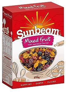 Sunbeam Dried Mixed Fruit 375g.