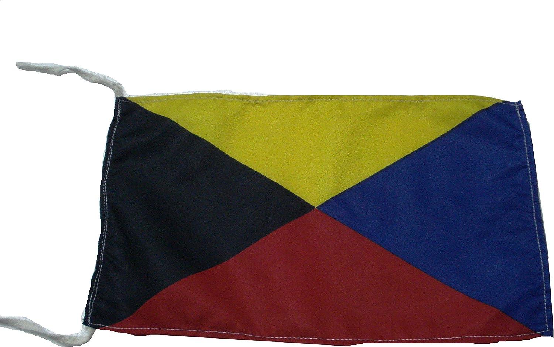 """8/"""" X 13/"""" Naval Signal Flag Nautical // Boat // Maritime U Marine Code"""