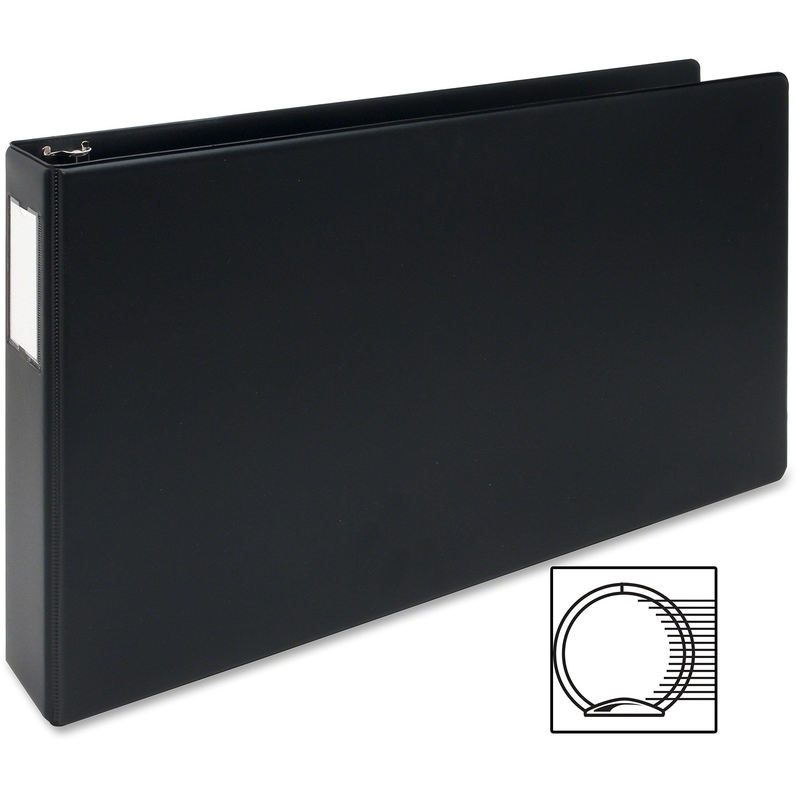 MyOfficeInnovations 3254301 Reference Binder 11''x17'' 2'' Black