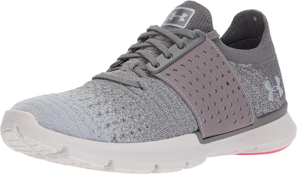 Under Armour Womens Speedform Slingwrap Fade Running Shoe, Graphite (101)/Glacier Gray, 5: Amazon.es: Zapatos y complementos