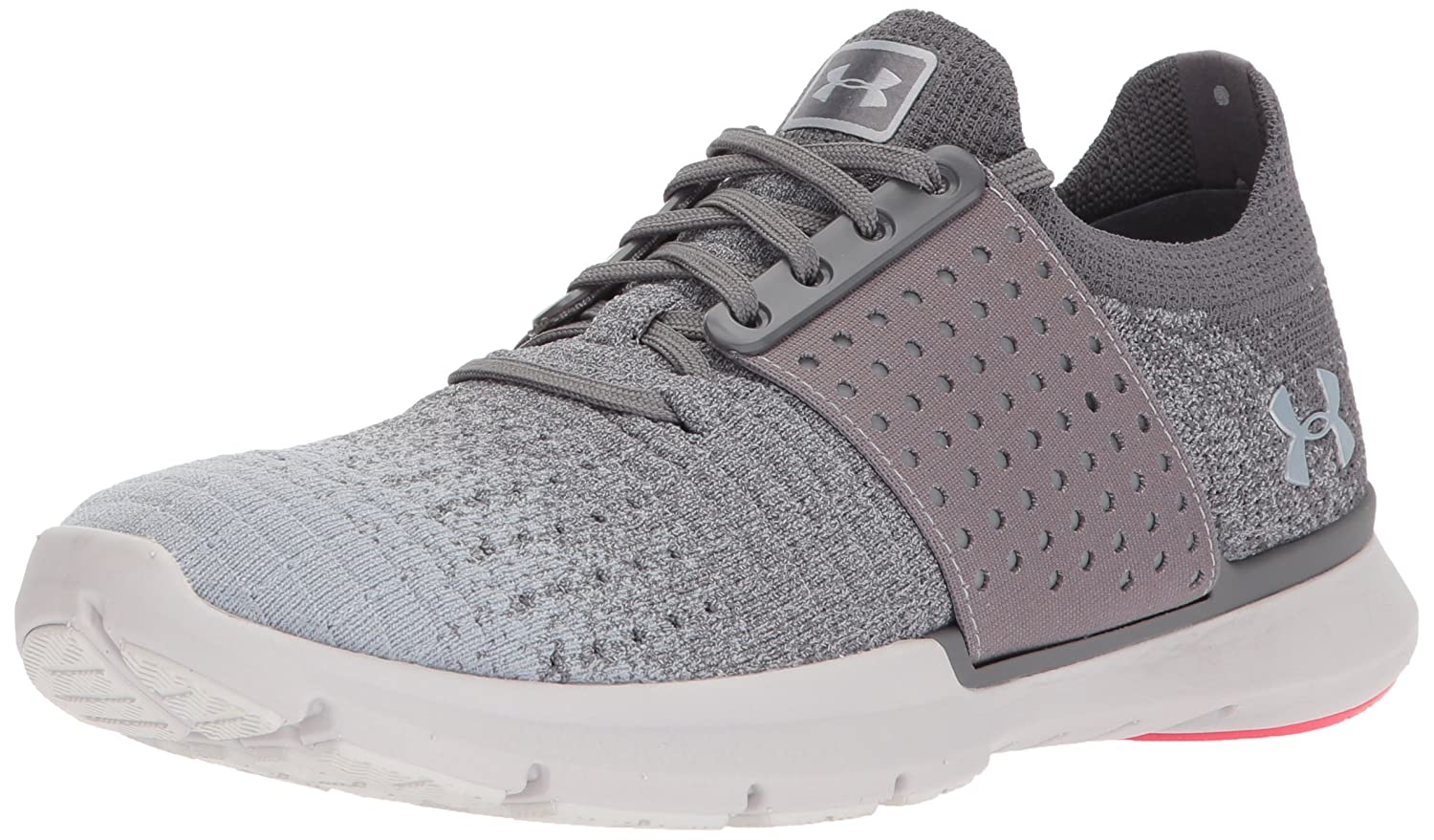 Under Armour Women's Speedform Slingwrap Fade Running Shoe B01N1QOCDV 10 M US|Graphite (101)/Glacier Gray