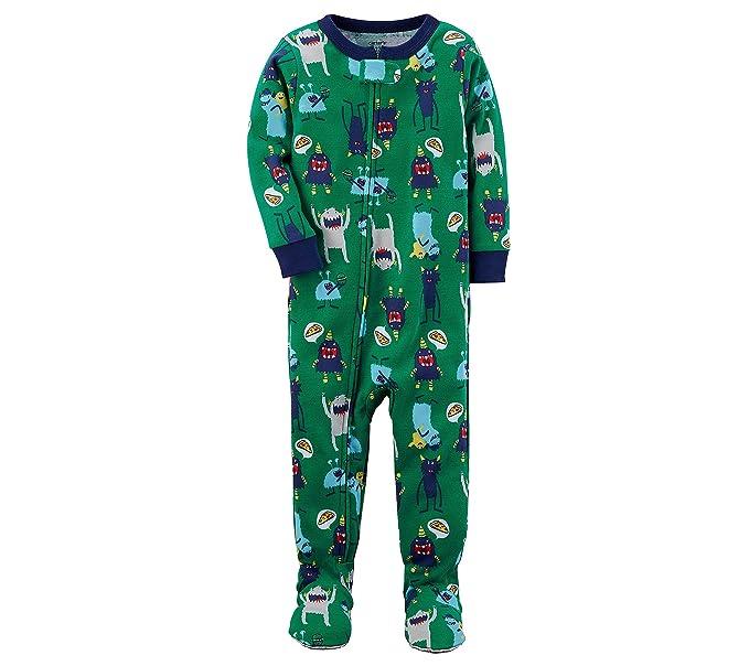 3630e0e393 Amazon.com  Carter s Boys  2T-5 One Piece Monster Snug Fit Cotton ...