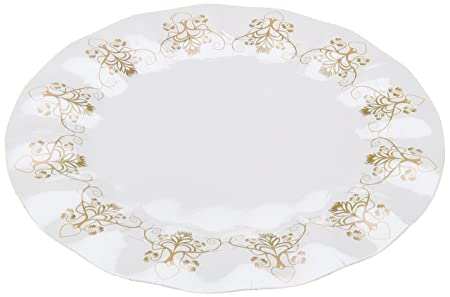 Amscan 23 cm Rustic Wedding Wavy 8 Paper Plates: Amazon.co.uk ...