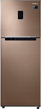Samsung 324 L 3 Star Inverter Frost-Free Double-Door Refrigerator (RT34M5538DP/HL, Refined Bronze)