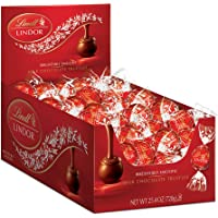 Deals on 60 Count Lindt LINDOR Milk Chocolate Truffles 25.4 oz