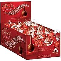 60 Count Lindt LINDOR Milk Chocolate Truffles 25.4 oz