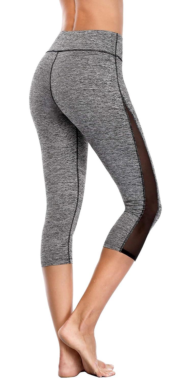 Grey Mesh Attraco Women's Rita Tiered Tankini Set Tie Front Swimwear Two Piece Swimsuit