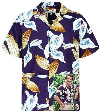 c560fa6940161e Amazon.com: Original Hawaiian Shirt | Tom Selleck Magnum | Made in ...