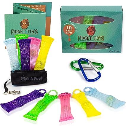 oakafeel Fidget Juguetes (10 unidades) para niños y adultos ...