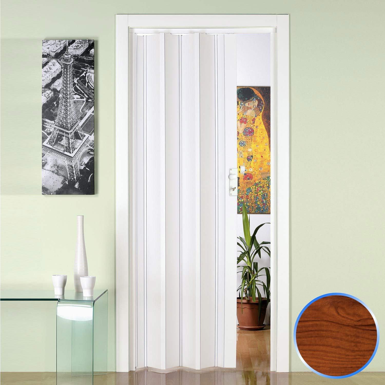 Innenraum Faltt/ür in PVC Buche 88,5x214 cm mod Luciana