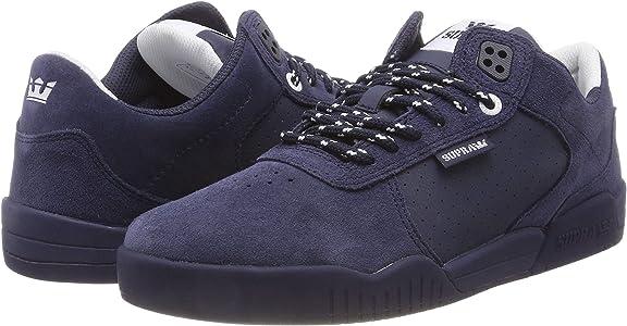 7abd44517596 Amazon.com   Supra Women Fulton Shoes Navy Navy Size 7.5   Fashion ...