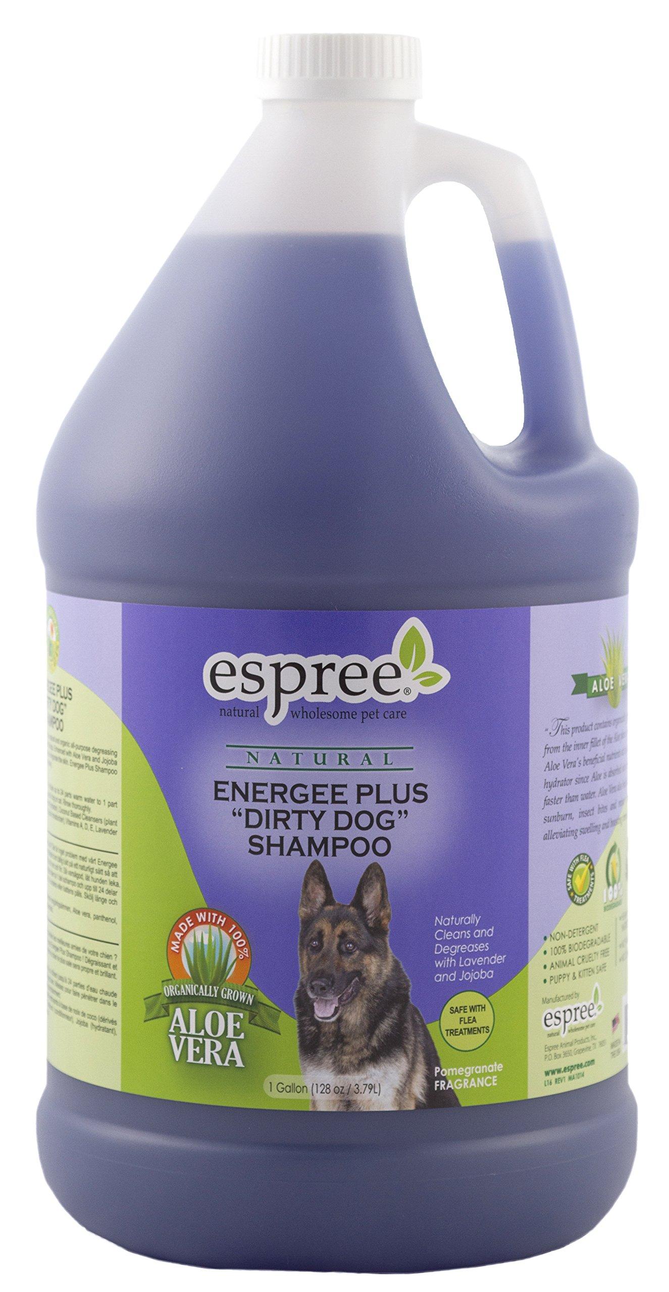 Espree Energee Plus ''Dirty Dog'' Shampoo, 1 gallon