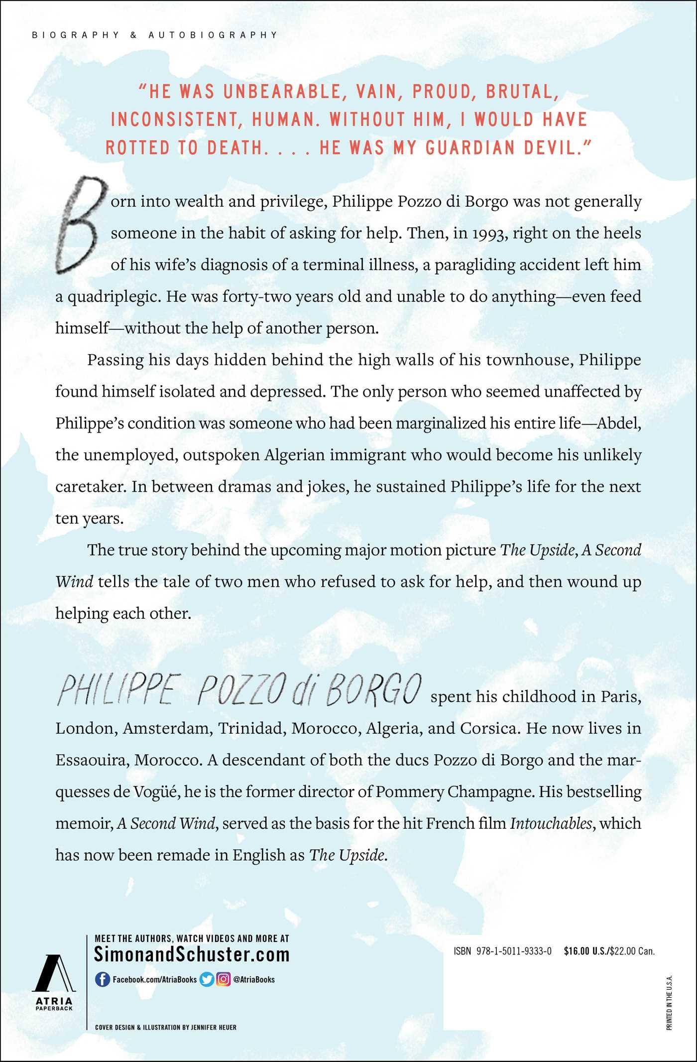 A Second Wind: A Memoir: Philippe Pozzo di Borgo