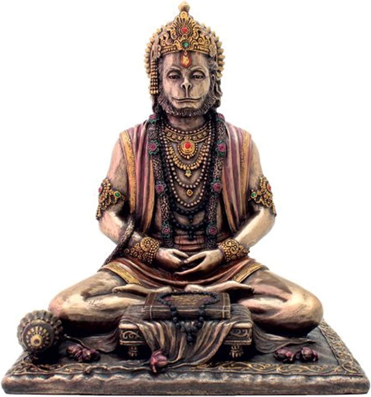 Purpledip RAM Bhakt Bajranjbali Hanumanji Hanuman Dieu hindou Statue Figurine Idol pour Home 10826