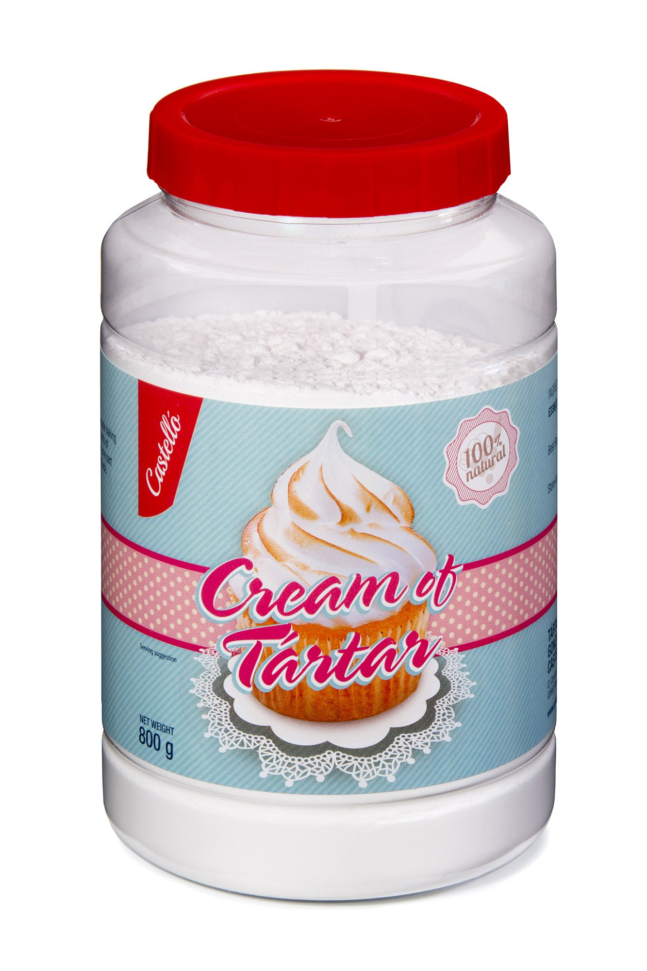 Castello Since 1907 Cream of Tartar – 800 gr jar