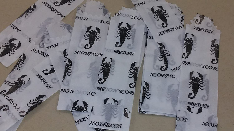 20mm//22mm Flying Skulls, 100 Bags Colors /& Designs Vellum Glassine Stamp Wax Paper Envelope Bags Small