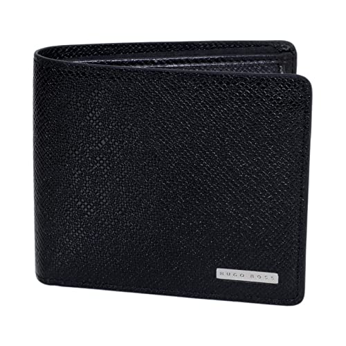 c6e9025d8f Hugo Boss Signature Leather Wallet In Black BOSS6607: Amazon.co.uk: Shoes &  Bags