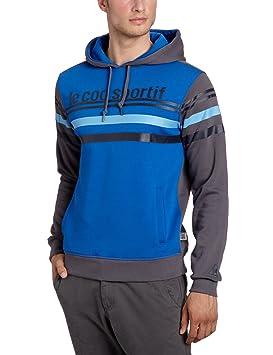 Le Coq Sportif - Sudadera para hombre, tamaño S, color azul olímpico: Amazon.es: Deportes y aire libre
