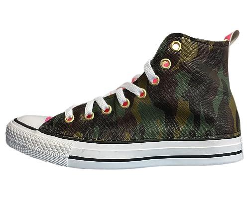 2all star converse verde militare
