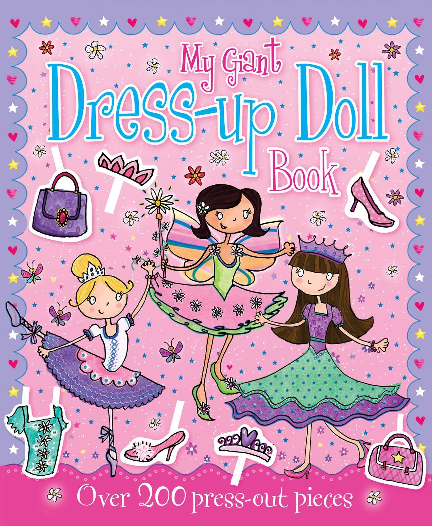 Download My Giant Dress-Up Doll Book pdf
