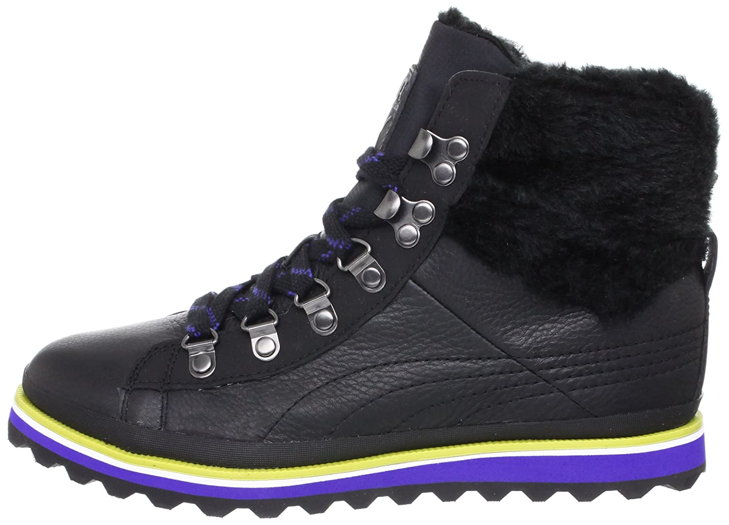 Amazon.com | Puma City Snow Boot Fur Womens Leather Boots / Shoes - Black -  SIZE US 7.5 | Ankle & Bootie