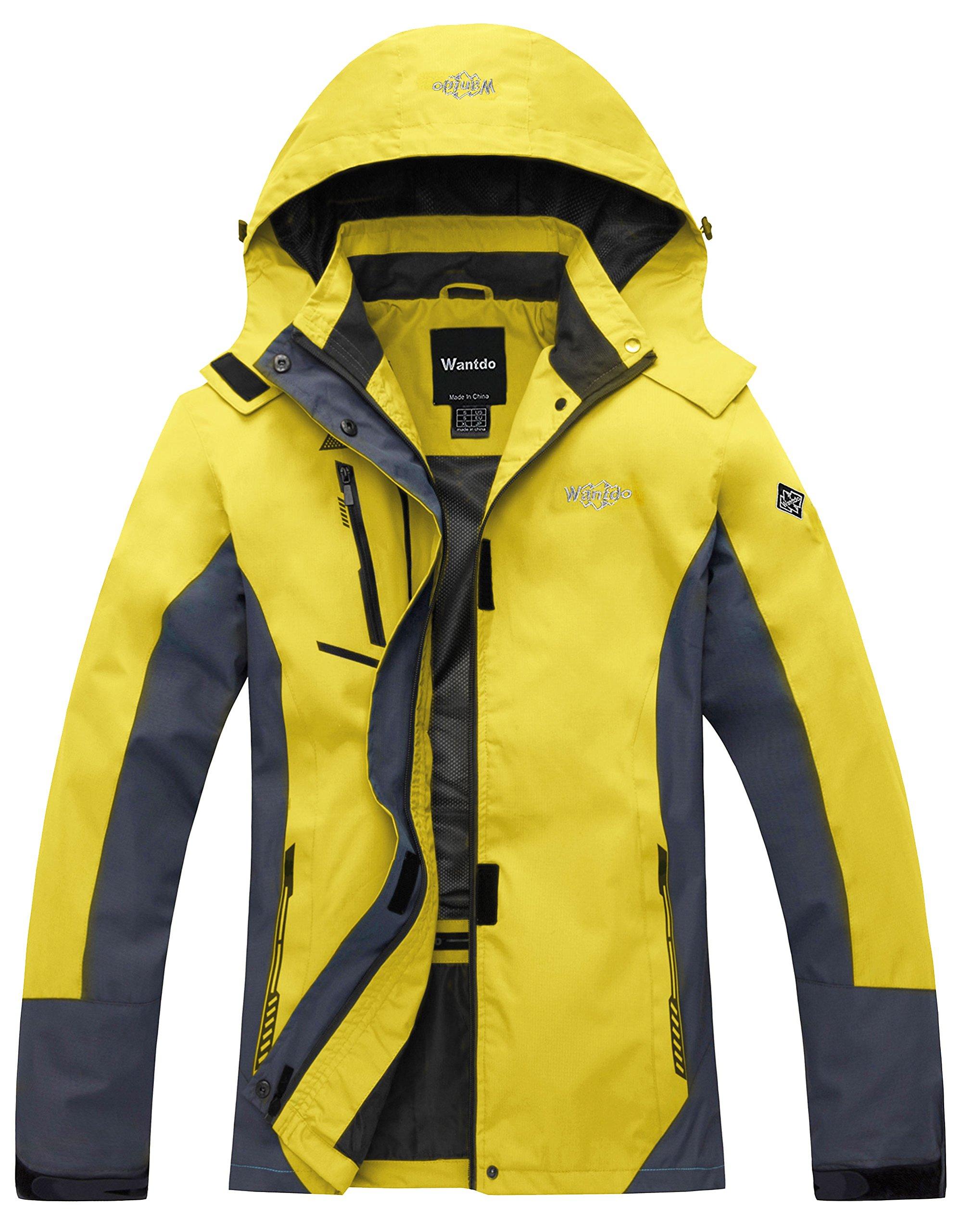 Wantdo Women's Windproof Breathable Jacket Athletes & Outdoor Sportswear