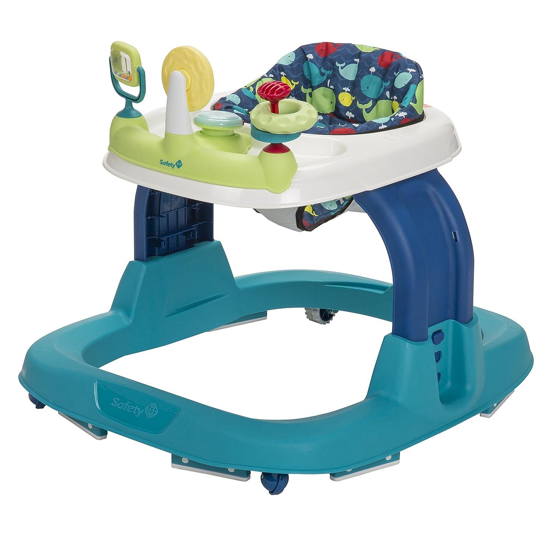 amazon com safety 1st ready set walk walker whale bay baby
