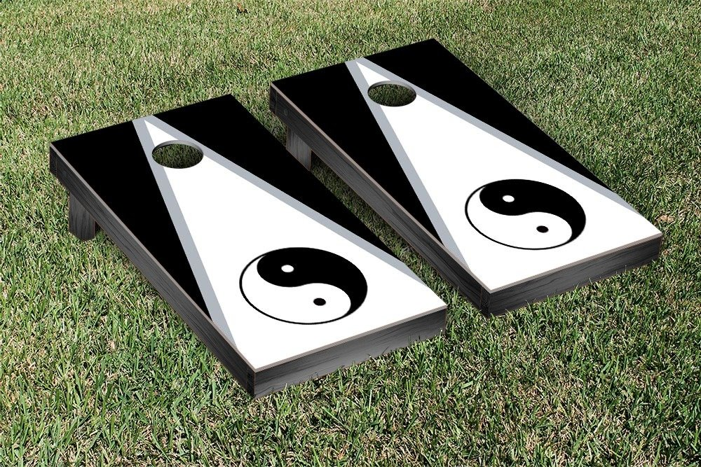 Yin Yang Cornhole Bean Bag Toss Game by Victory Tailgate (Image #1)