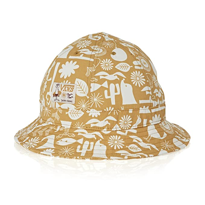 1381f5c23b695 Amazon.com  Vans Yusuke Bucket Hat White S M  Clothing