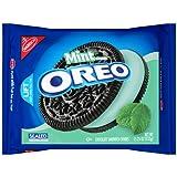 Oreo Chocolate Sandwich Cookies, Mint Crème, 15.25 Ounce