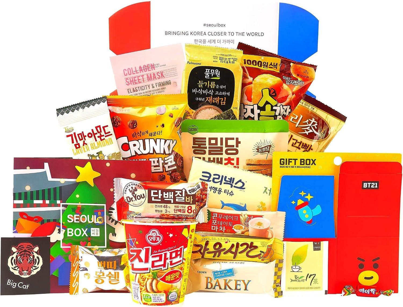 SeoulBox - Authentic Korean Snacks & Epic K-pop Merch Gift Subscription | Signature
