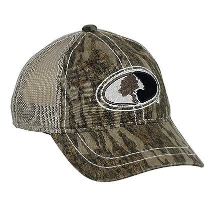 85b4e70cb9e Amazon.com   Mossy Oak Youth Contrast Stitch Mesh Back Cap   Sports ...