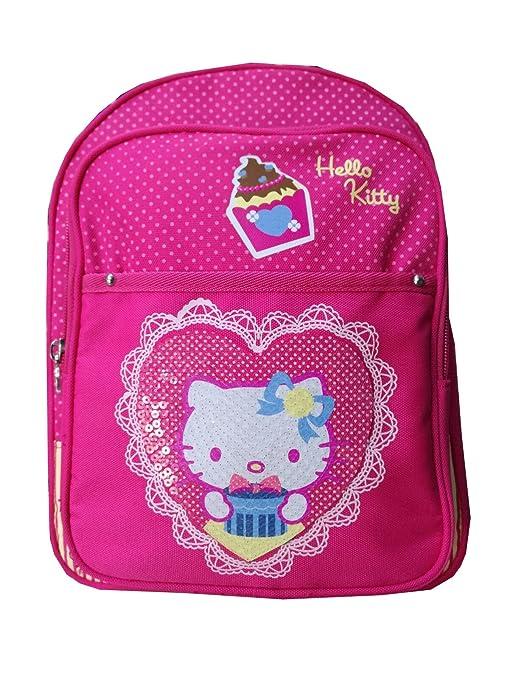 Hello Kitty - Mochila infantil fucsia fucsia