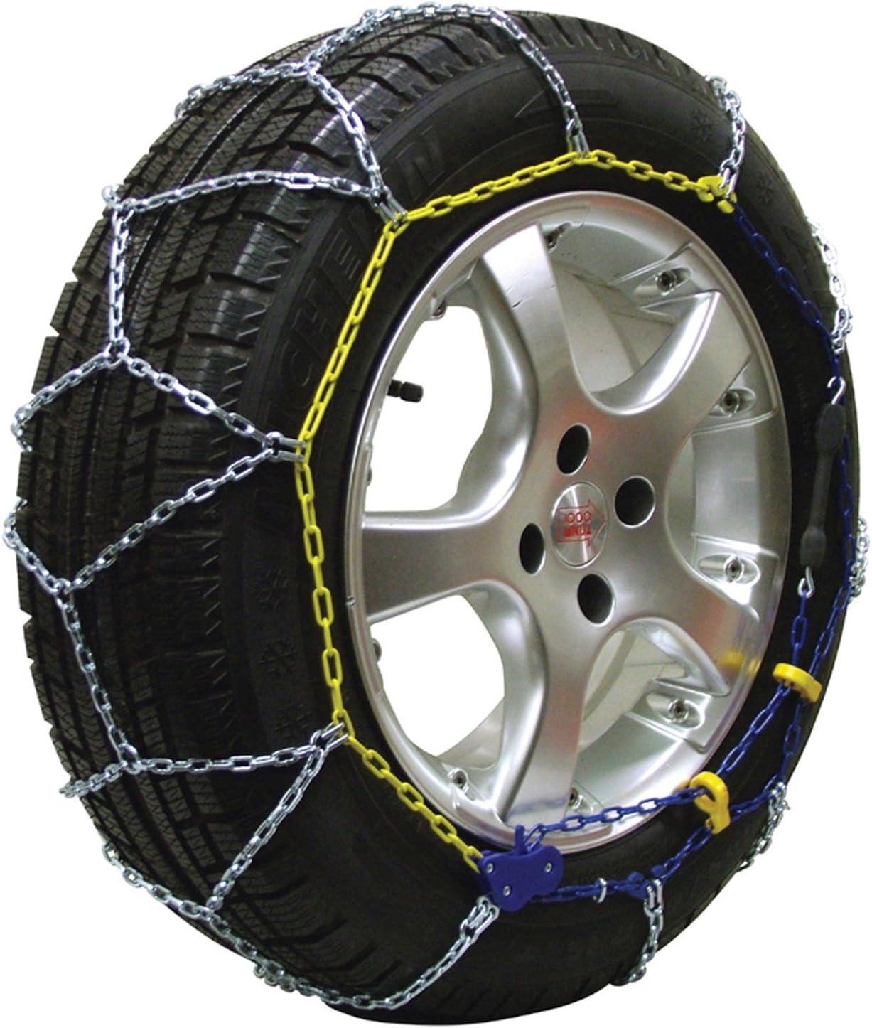 2 pi/èces compatibles ABS et ESP certifi/ées T/ÜV//GS et /ÖNORM Michelin 92307 Cha/înes /à neige M1 avec syst/ème Extrem Grip 59
