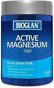 Bioglan Active Magnesium, 1000 - 150 Tablets